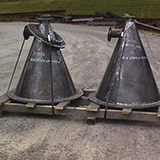 Welding/Bending: Feed Cone Weldments