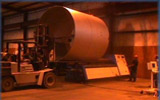 Rolled 8' Diameter Tank Shell